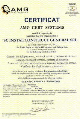 Certificat AMG
