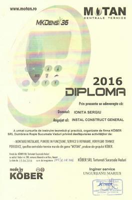 Diploma Motan