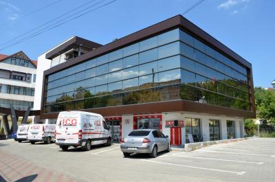 Showroom ICG - locuri de parcare clienti