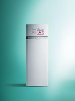 Centrala termica in condensatie VAILLANT ECOCOMPACT VSC INT 306/4-5 - 30 KW cu boiler incorporat 150 litri -