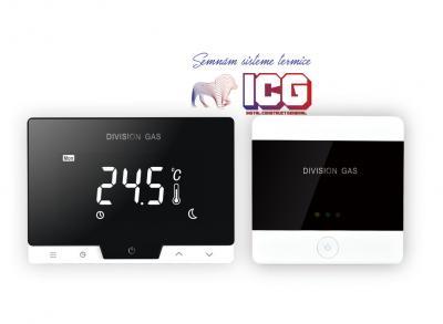 Termostat de ambient cu control prin internet HOMEPLEX (Division Gas) DG19 Wi-Fi