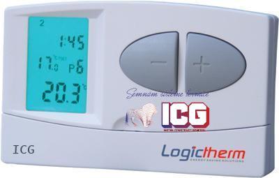Termostat de ambient programabil Logictherm C7 cu fir