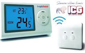 Termostat de ambient programabil Logictherm R7RF wireless