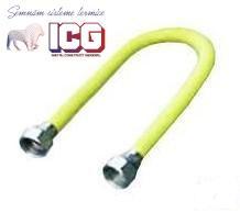 RACORD EXTENSIBIL GAZ CU PROTECTIE 100-200 CM, 3/4-3/4 FF
