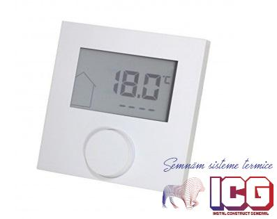 Termostat Kompakt Kermi 230V display LCD