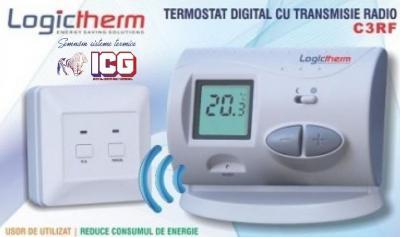 Termostat de ambient fara fir LOGICTHERM C3RF
