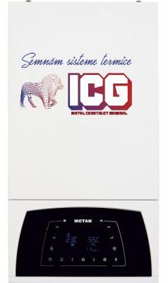 Centrala termica cu condensatie Motan Condens plus 100 25kw C38GC25V1 +Termostat de ambient wireless HT220S SET + KIT EVACUARE GRATUIT