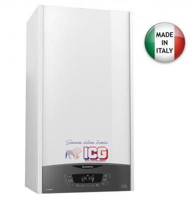Centrala Termica ARISTON CLAS ONE 24 kw + Termostat wireless Honeywell DT92A + KIT EVACUARE GRATUIT