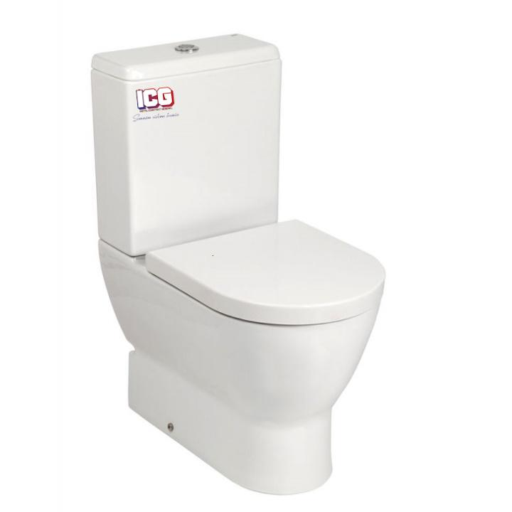 GALA VAS WC EMMA ROUNDED BTW COMPACT